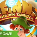 Finn is back, this time visiting his favourite pub in the Finn's Golden Tavern™ slot