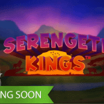 The king of the jungle returns in upcoming Serengeti Kings™ slot