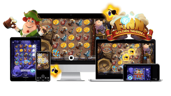 finn's golden tavern video slot NetEnt
