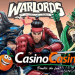 Get your sword ready and beat CasinoCasino's Warlords™ video slot challenge