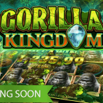 Get ready to meet the mighty gorilla in the upcoming Gorilla Kingdom™ video slot