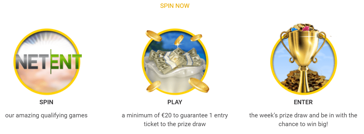 Spin and win at NextCasino this March
