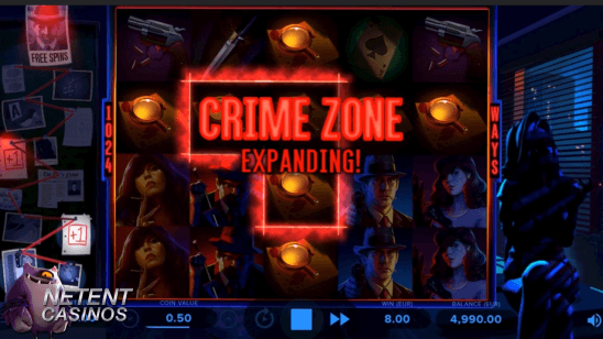 Expanding Crime Zone Cash Noire™ video slot