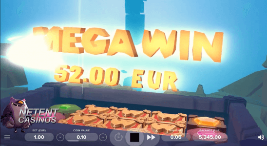 Real-time 3D slot