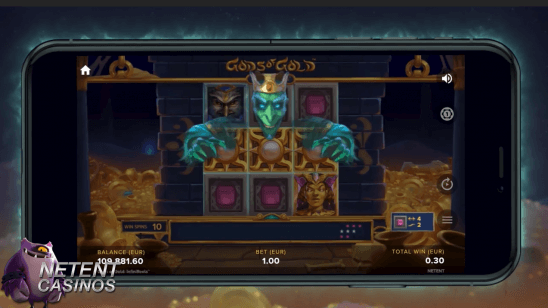 Gods of Gold INFINIREELS Touch® Free Spins