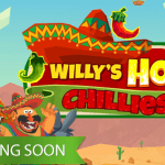 Willy's Hot Chillies™ preview shows spicy slot game