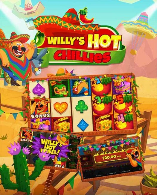 Willy's Hot Chillies™ videoslot
