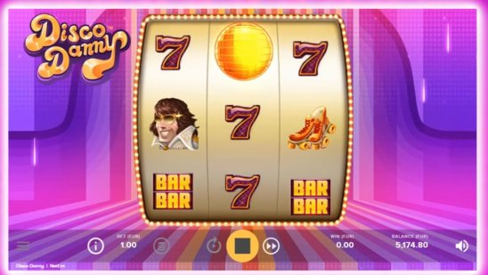 Disco Danny Touch® main game