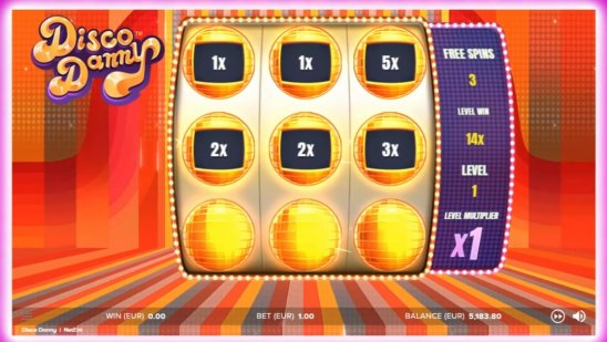 Disco Danny Touch® Free Spins