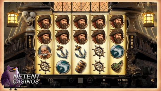 Rage of the Seas™ slot main game