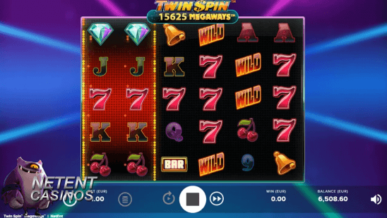 Twin Spin Megaway™ video slot