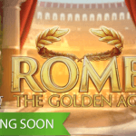 February promises heaps of gold coins in the Rome The Golden Age™ slot