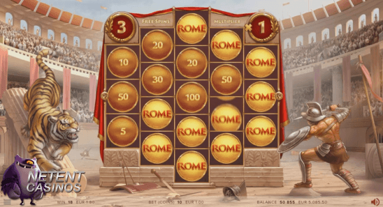 Rome The Golden Age™ slot Free Spins feature