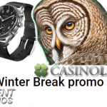 Win a Kronaby Hybrid Watch while enjoying a Winter Casino promotion