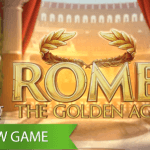 Get buried under golden coins in the new Rome: The Golden Age™ video slot