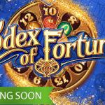 Codex of Fortune™ slot turns and twists as you spin the reels.