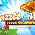 A world of dazzling gems awaits in Dazzle Me Megaways