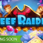 First preview images available from the Reef Raider™ slot